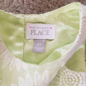 The Children's Place Dresses - Girls Spring Sleeveless Dress 2T